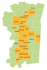 Nash Bro Service Area Map
